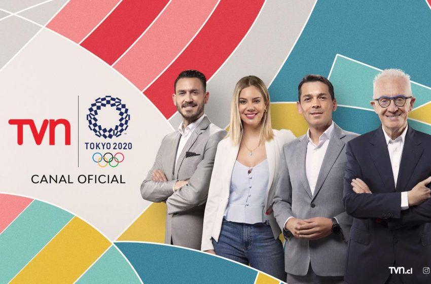 TVN lidera el fin de semana completo con la transmisión de JJ.OO