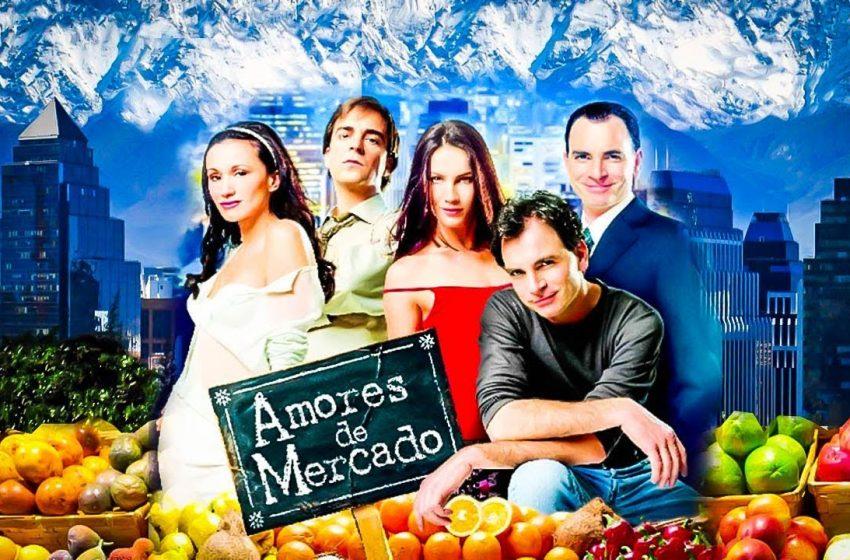 A 20 años de su exitoso estreno, pronto regresará a las pantallas de TVN la icónica teleserie «Amores de Mercado»